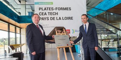 Inauguration à Technocampus Ocean : de nouveaux équipements de recherche technologique dans la nef Sea'Neargy du CEA Tech