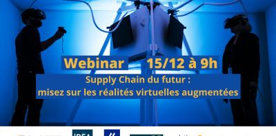 """Webinar : """"Supply Chain du futur""""  15 décembre 2020"""